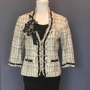 White House Black Market Tweed Blazer